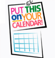 Picture of a calendar page