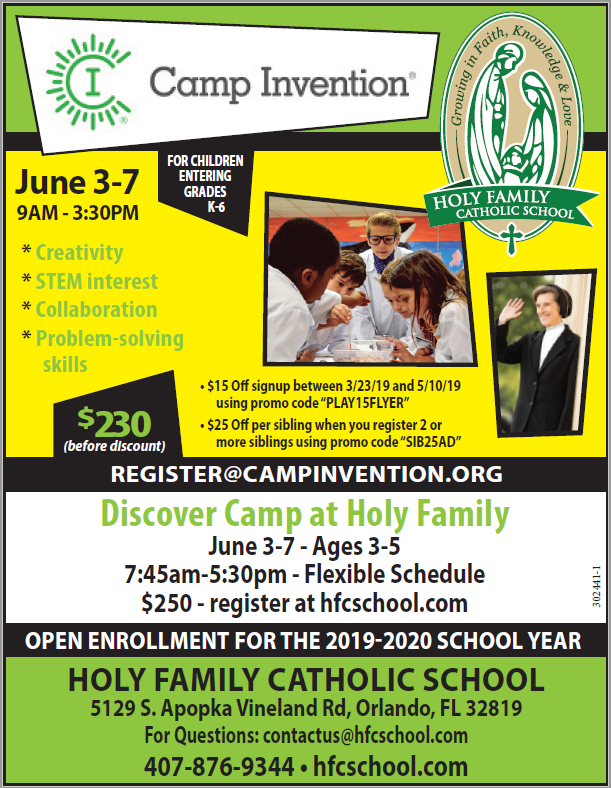 Camp Invention Featured Photo