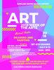 July Art Class Flyer