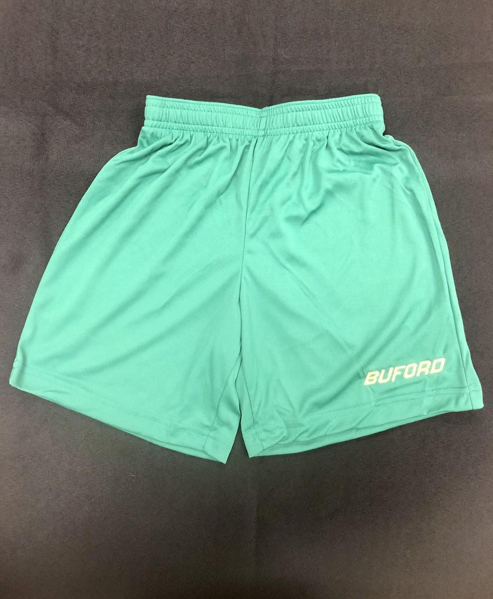 Green Shorts with Gold Buford