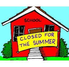 Closed for summer