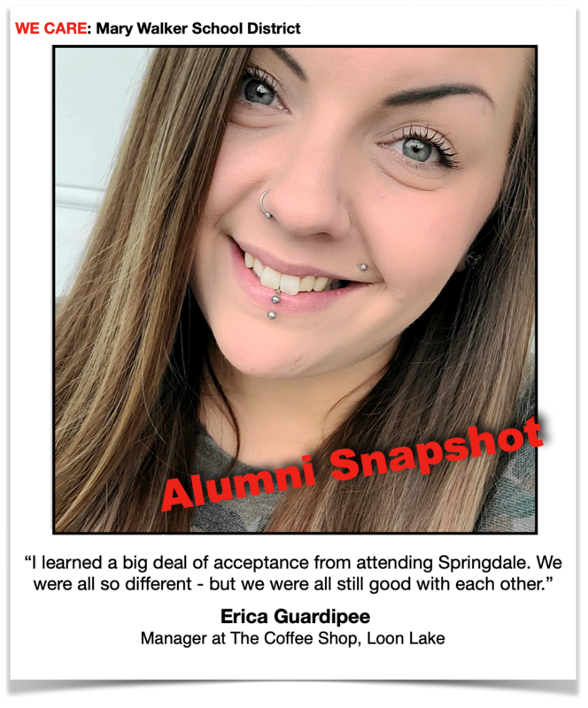 Mary Walker School District Alumni Do Great Things! Featured Photo