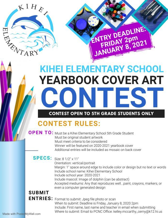 Yearbook Cover Art Contest