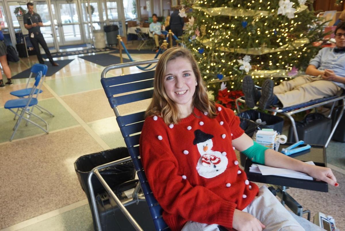 Christmas Blood Drive.Union Catholic Regional High School