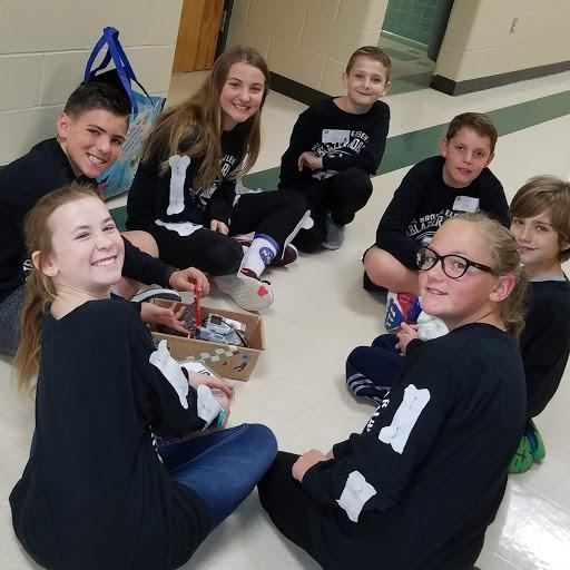 Team Chewie at First Lego League Competition 2.3.19