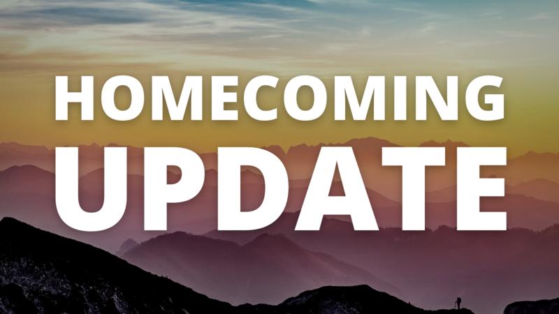 homecoming update