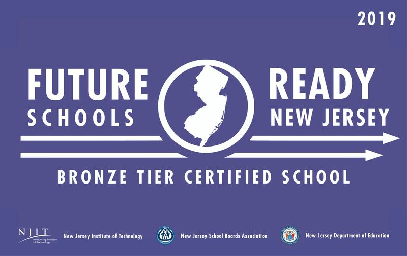 Future Ready Schools NJ Bronze Tier Certification Thumbnail Image