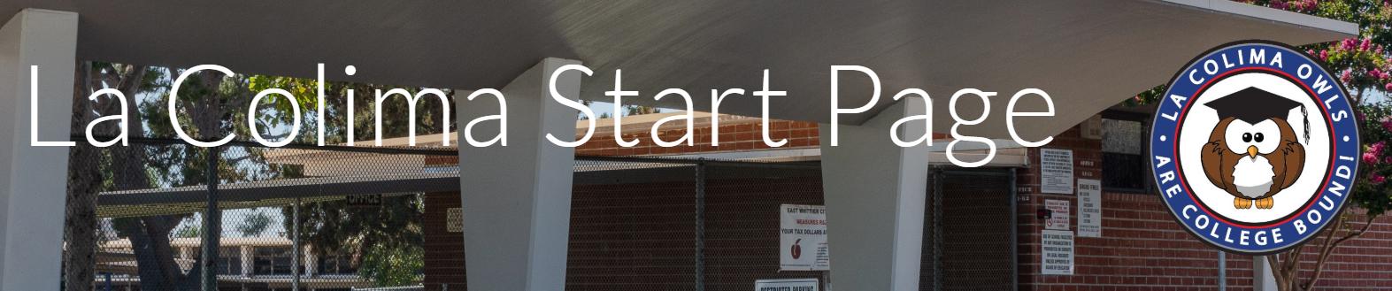 La Colima Start Page Photo