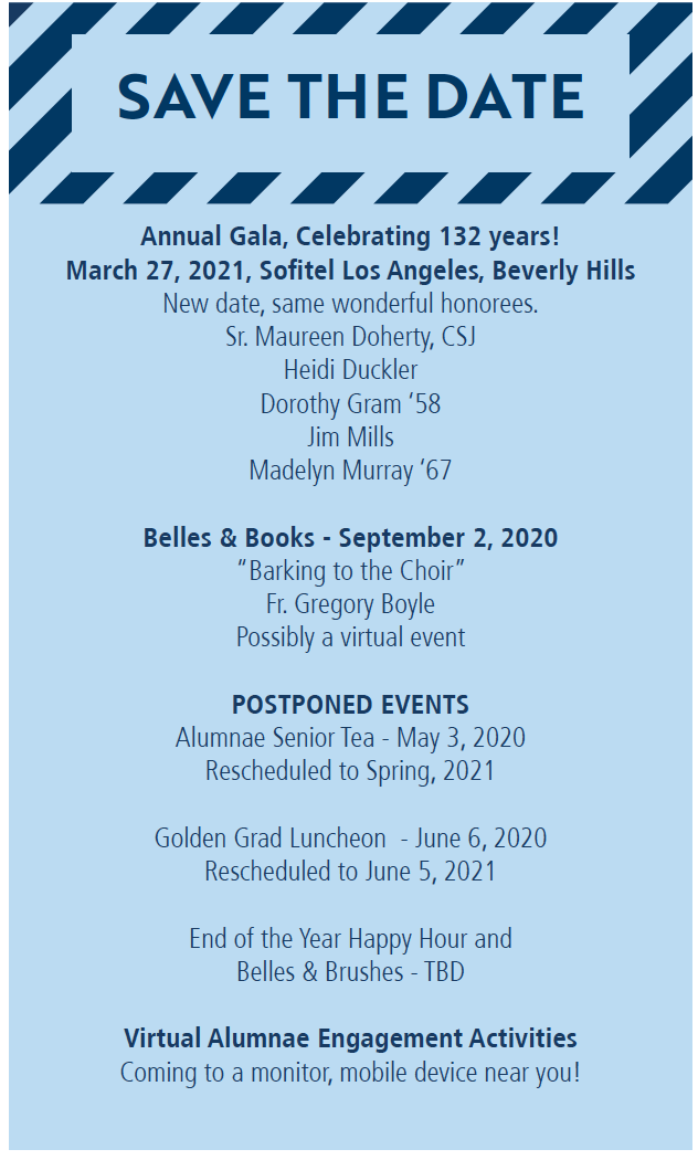 updated save the date for alumnae events