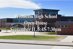 WHS Open House