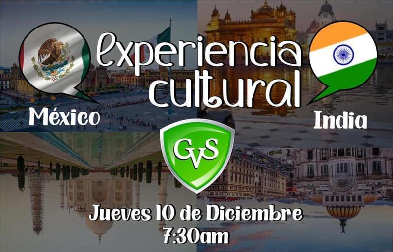 Experiencia cultural India - México Thumbnail Image