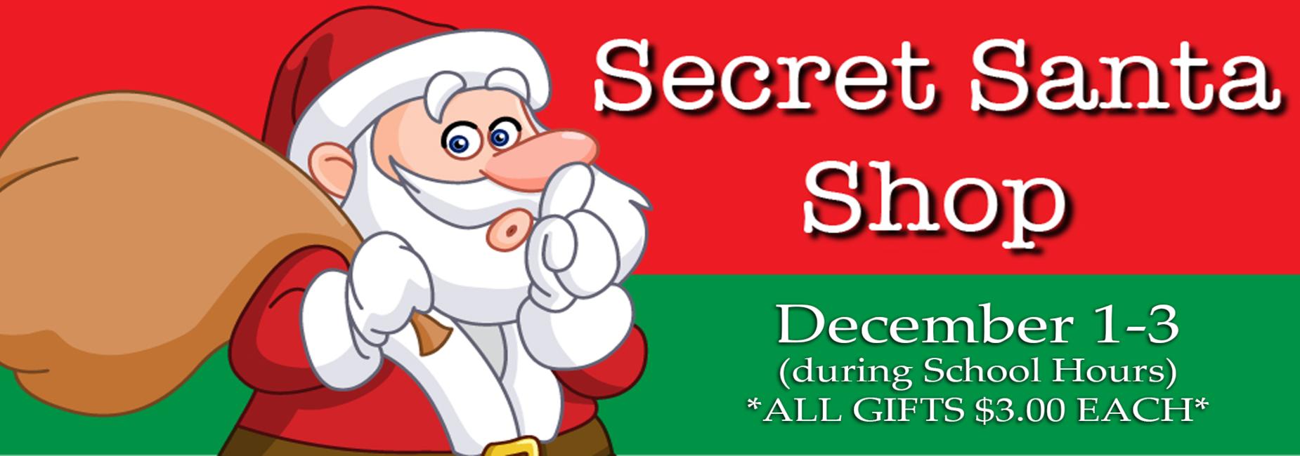 Secret Santa Shop is coming