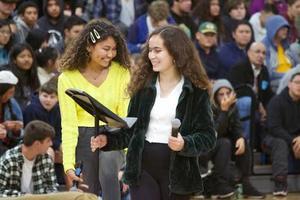 Branham High School winter wishes rally