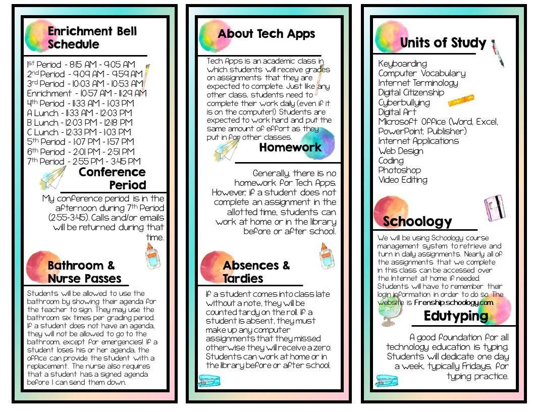 Tech Apps Brochure