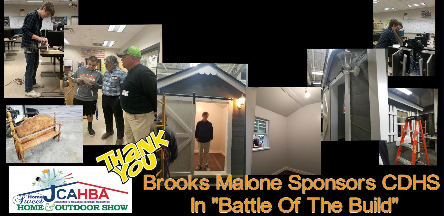 Thank you Brooks Malone