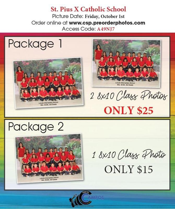 Picture Day October 1st - Click for Order Form Featured Photo