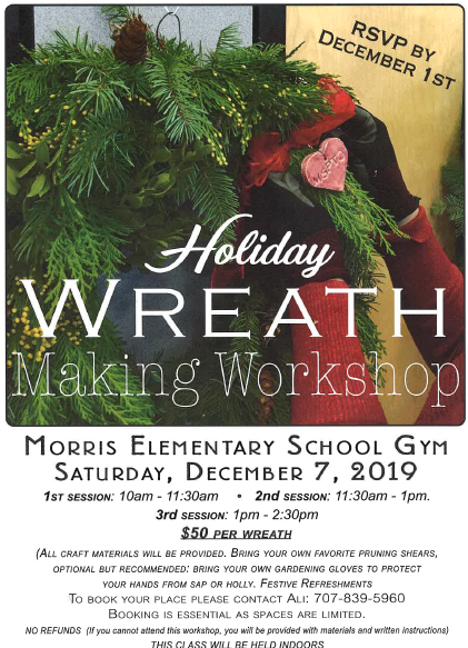 MSPTO Wreath Making Workshop