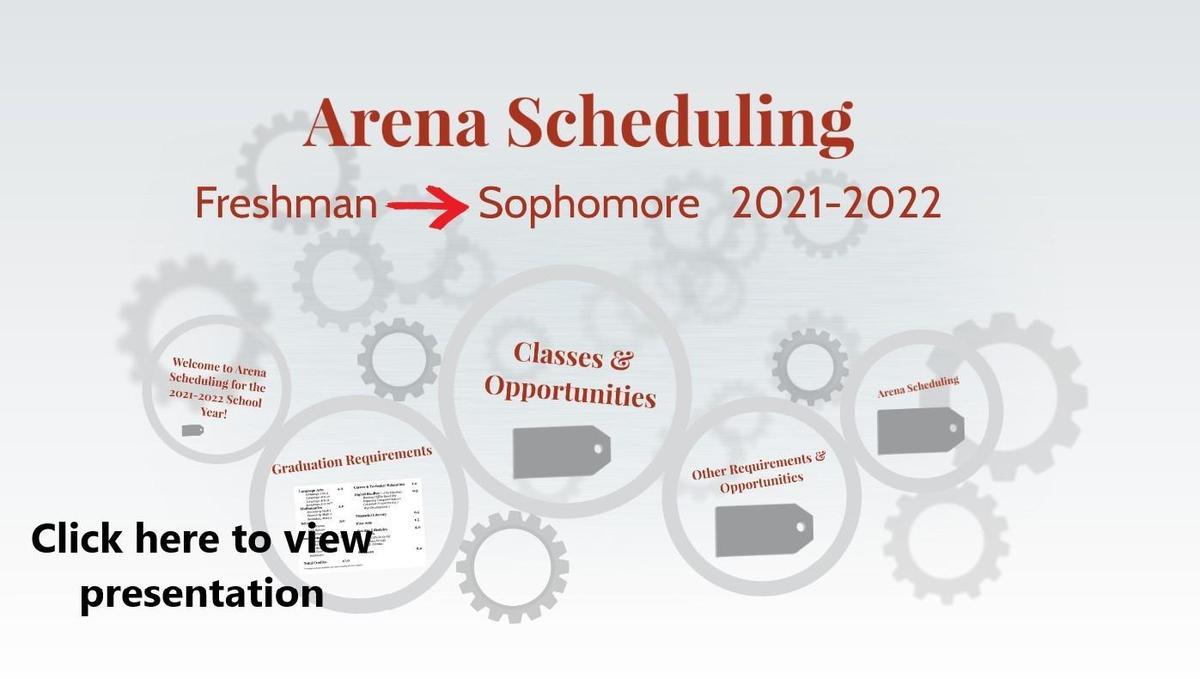 9th grade arena prezi slide