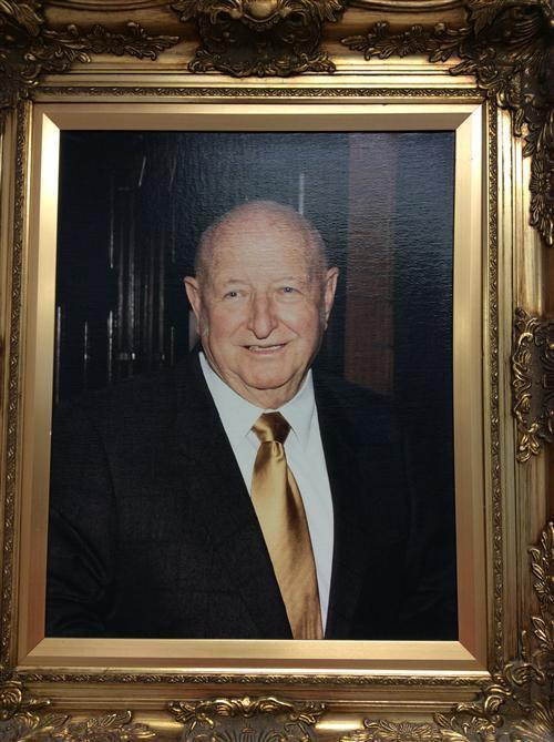 Portrait of Judge Moises V. Vela
