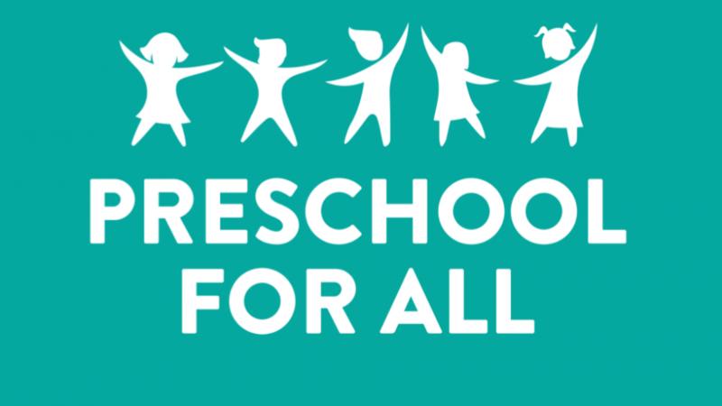 Preschool For All Program 2021-2022 Featured Photo