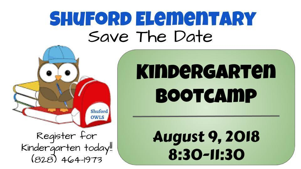 Kindergarten Boot Camp