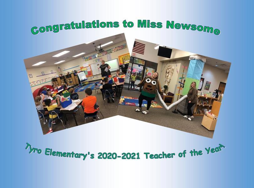 Miss Newsome 2020-21 TOY