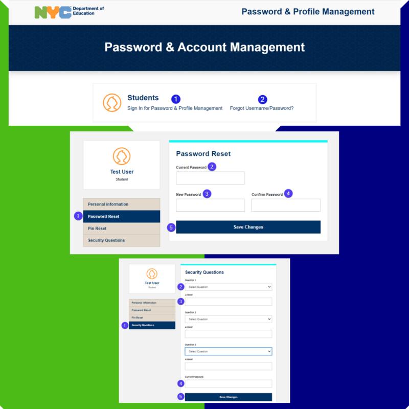 Password & Account Management