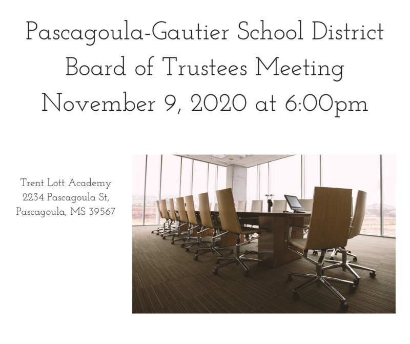 PGSD Board Meeting for November