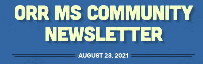 Community Newsletter 8/23/21 Featured Photo