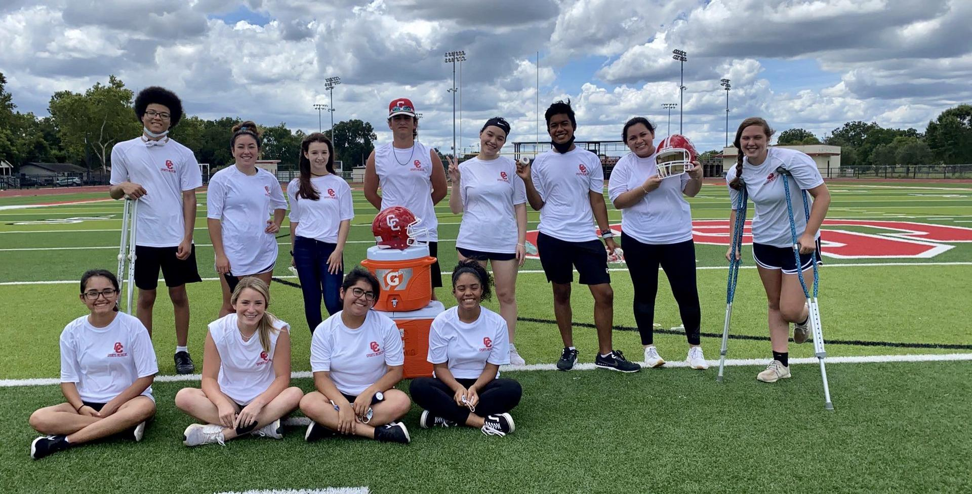 2020-2021 Student Athletic Trainers