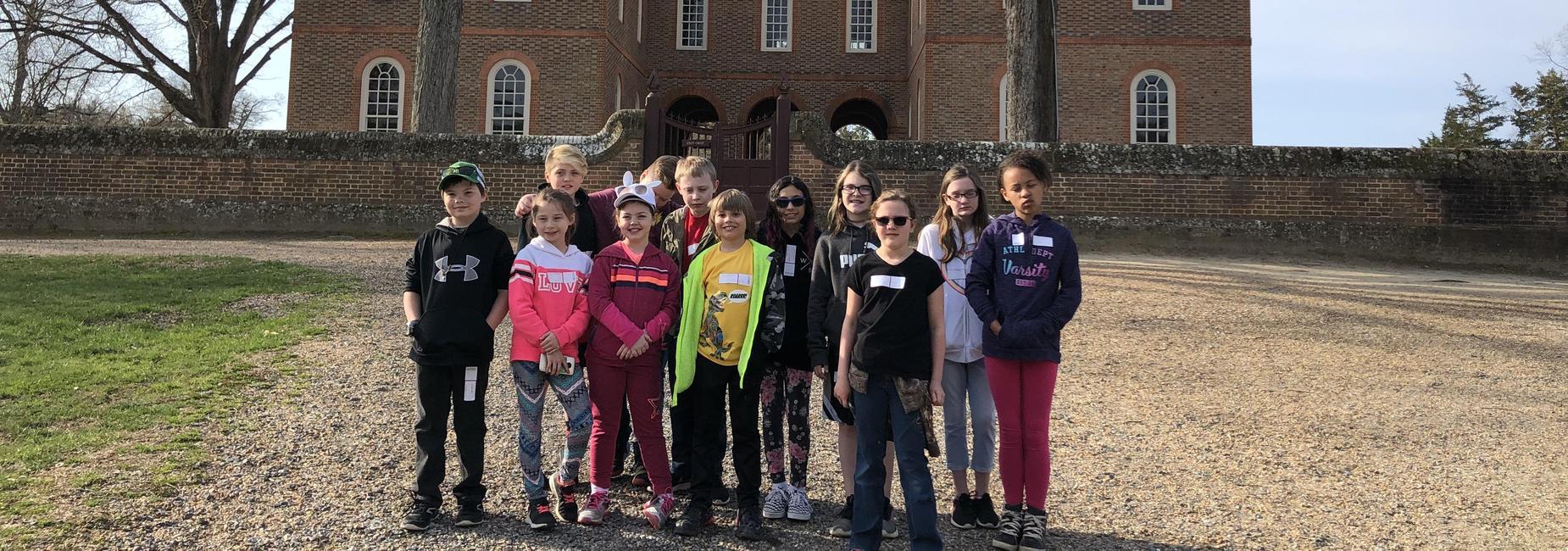 Students at Williamsburg