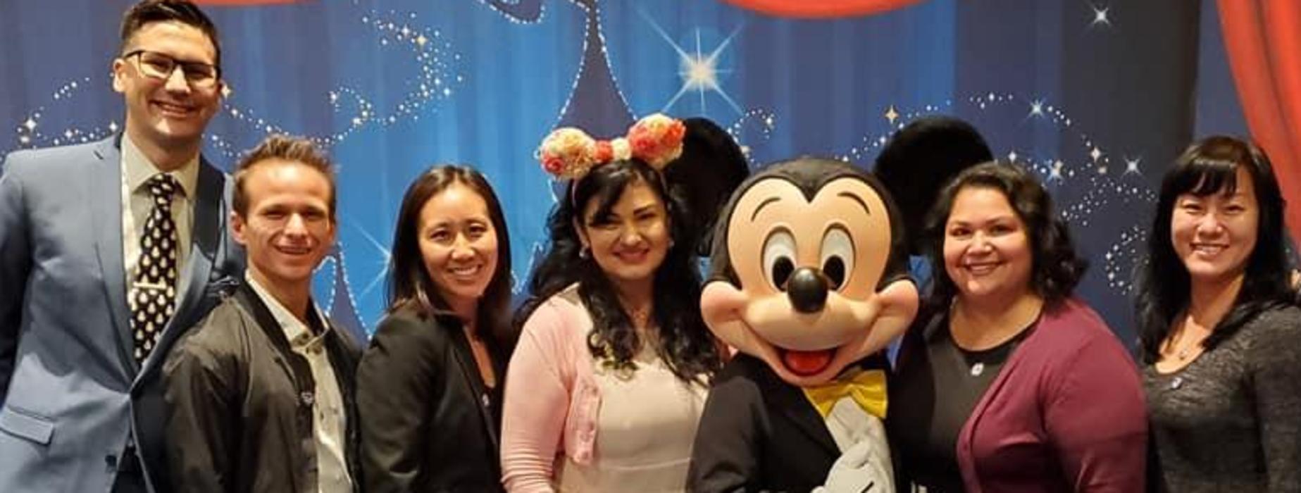 Highlands Principal and Faculty at Disneyland