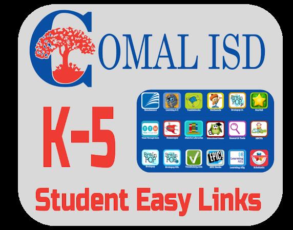 K-5 Student Easy Links