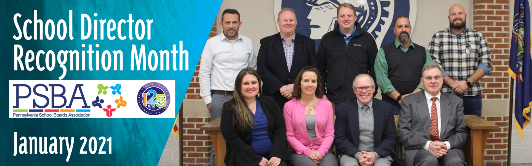 School Board Director Recognition Month January 2021 Banner