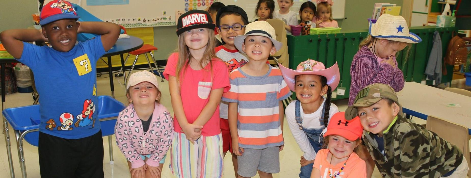 Hat day at school!