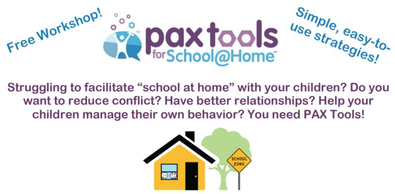 Pax Tools at Home for Parents Thumbnail Image