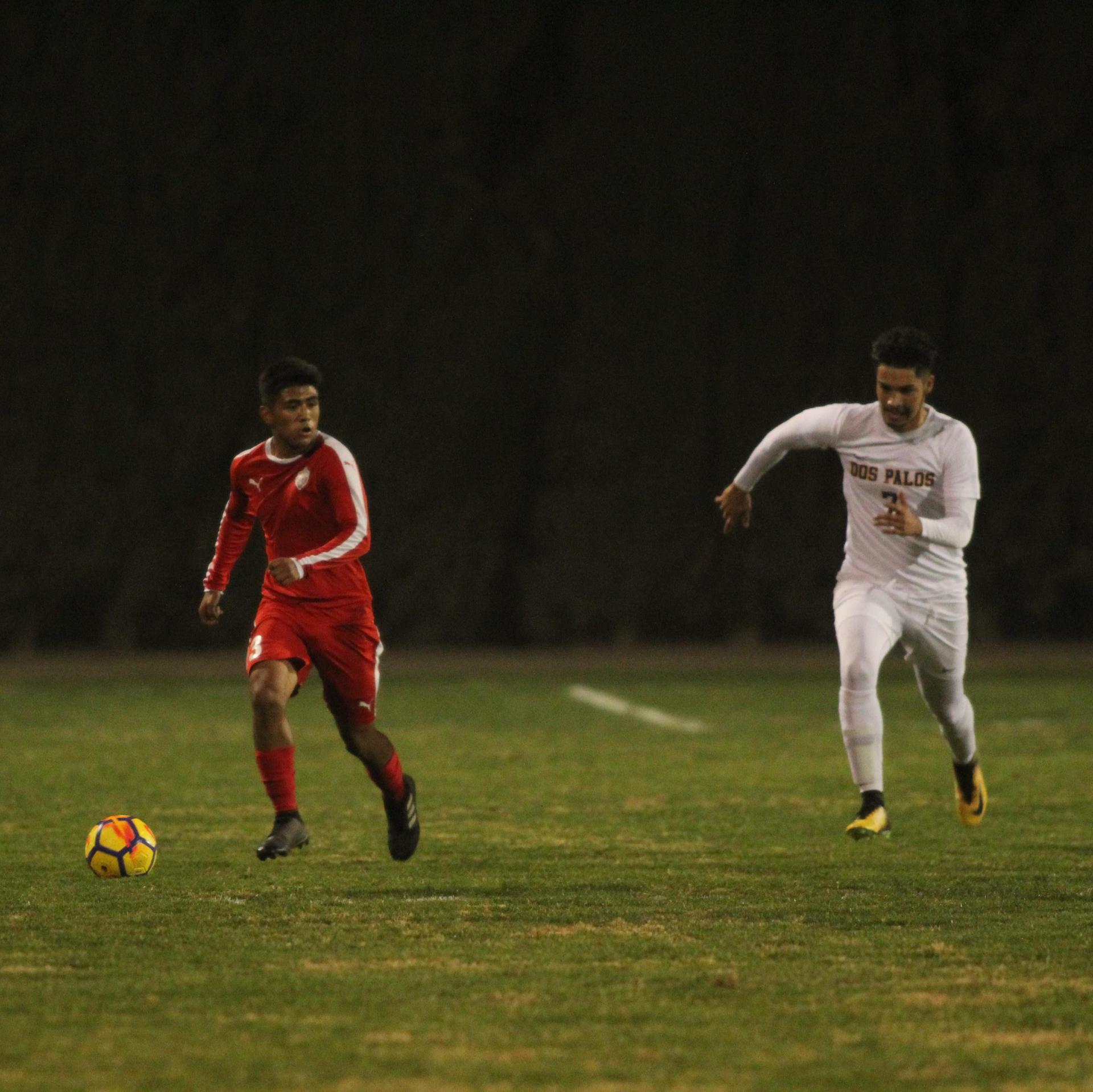 Alejandro Montes Running with the Ball