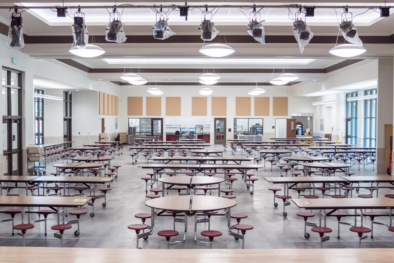 University Park cafeteria
