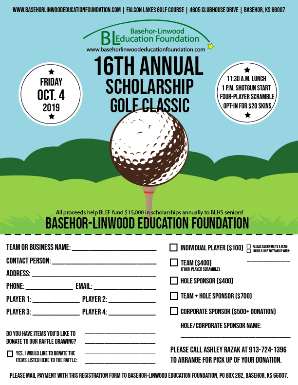 Golf Flyer image