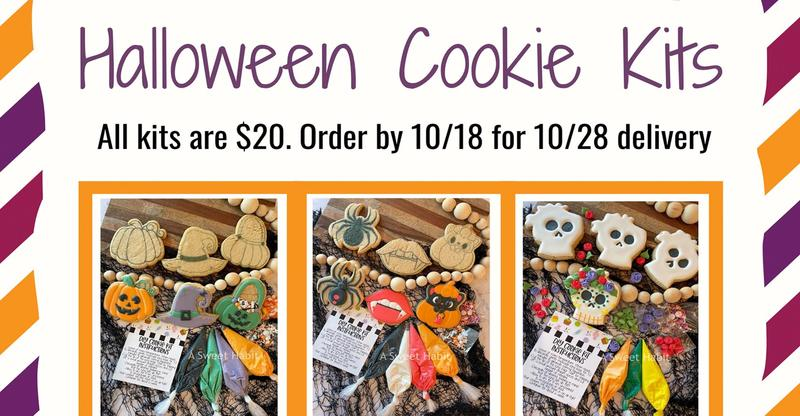 Halloween Cookie Kits Now Available: Order by October 18, 2021!