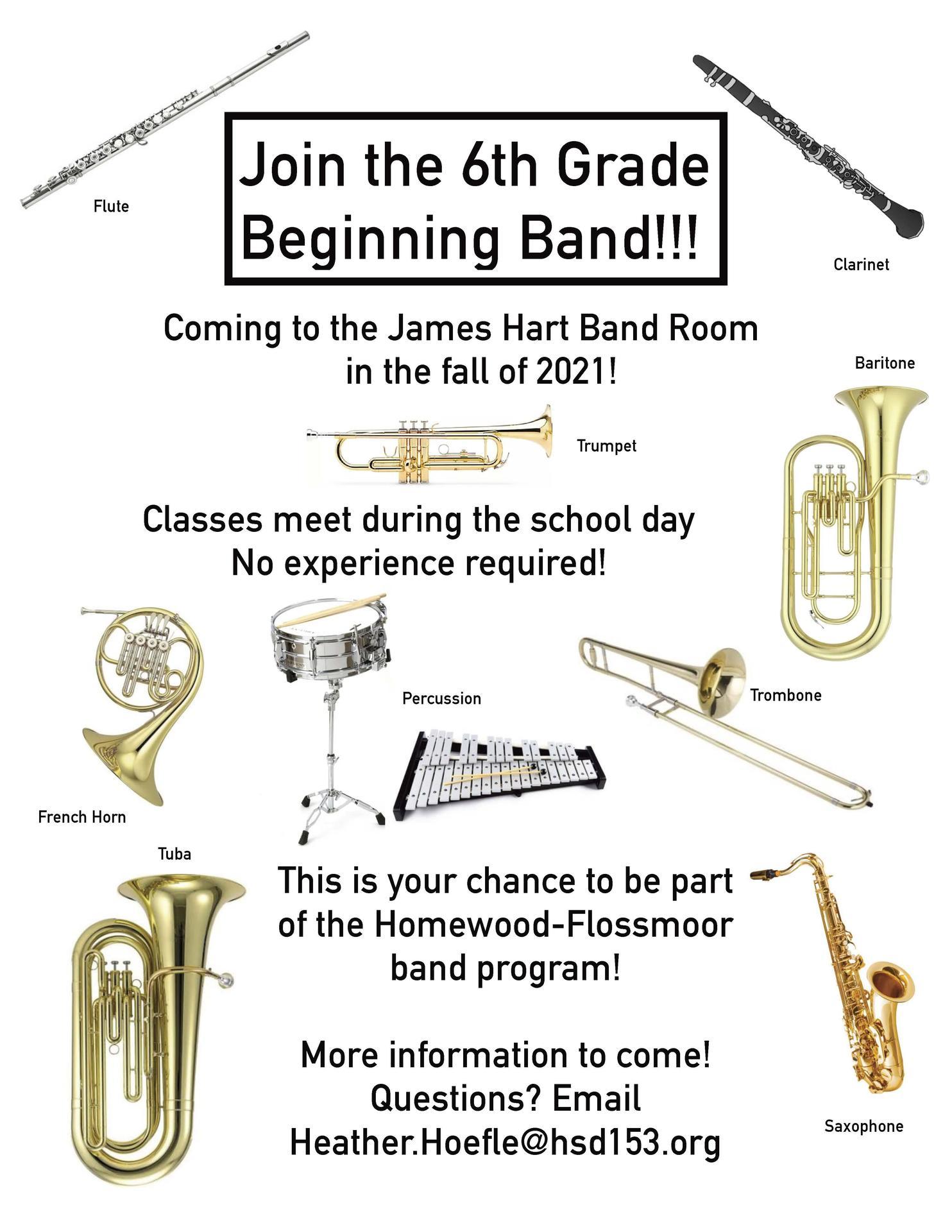 6th-Grade Band