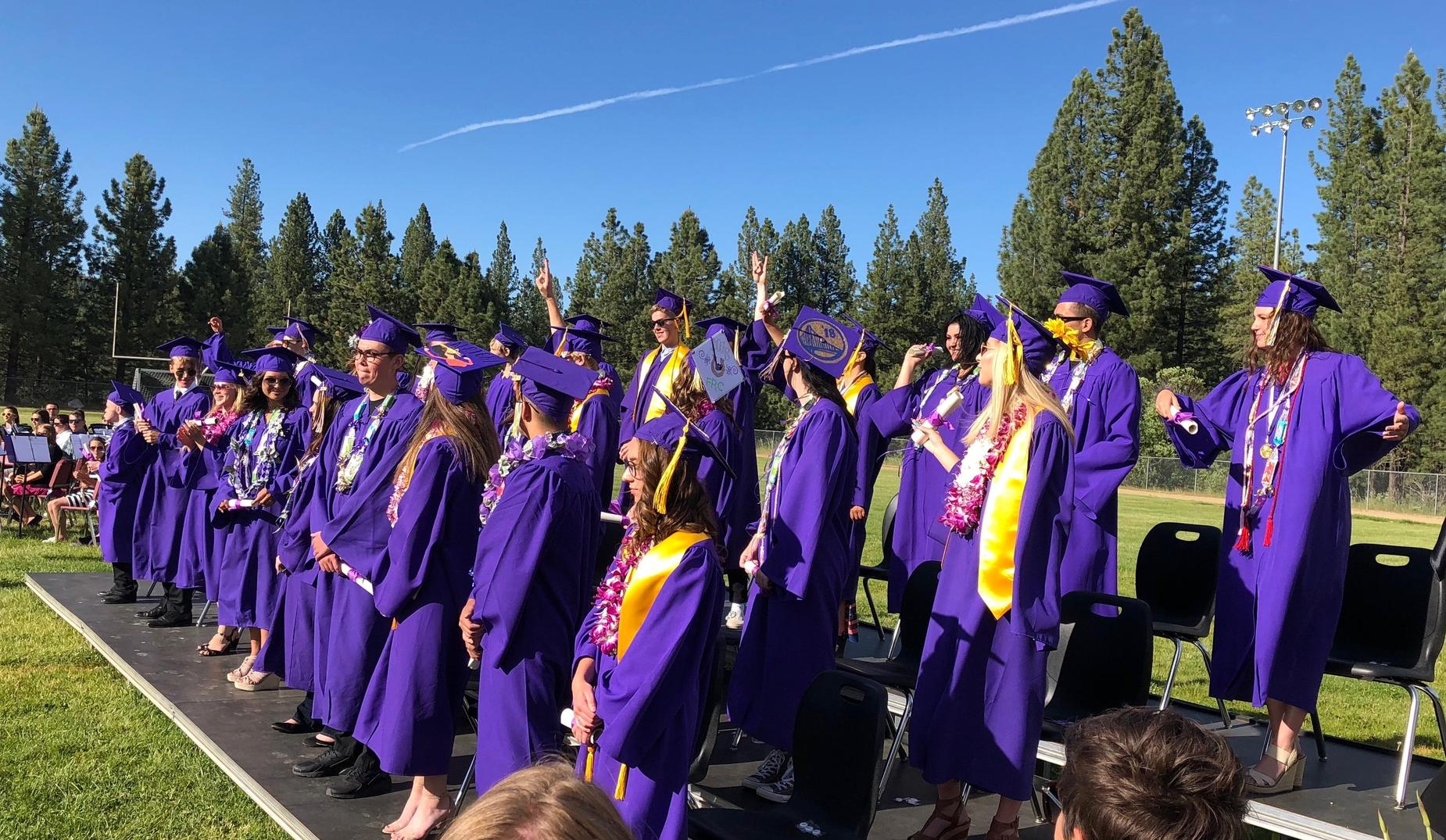 Graduation of Class of 2018