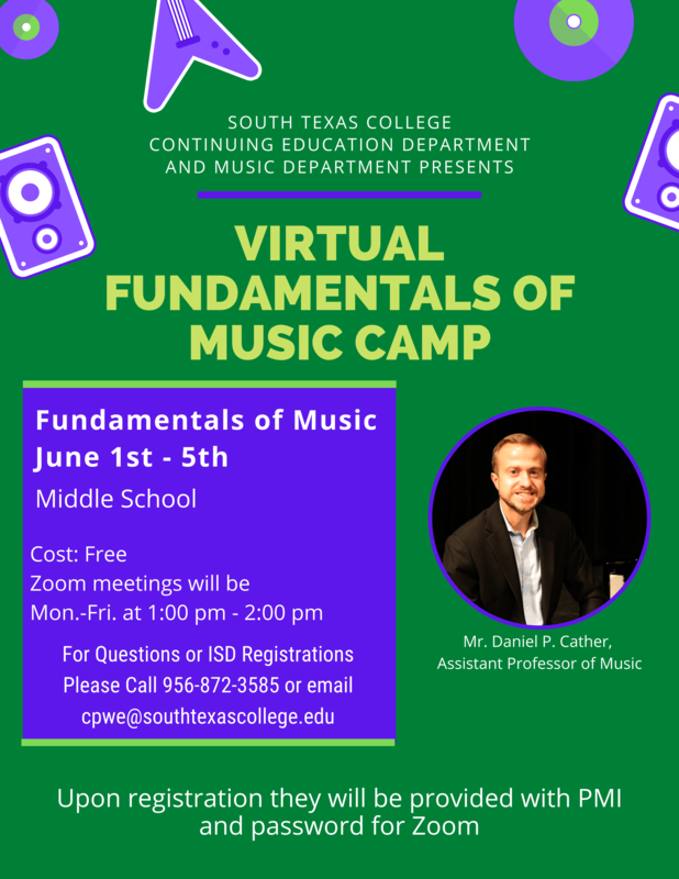 Free Music Summer Camps By South Texas College Featured Photo