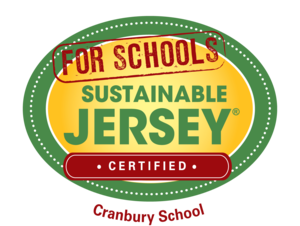 Sustainable Jersey Graphic with Cranbury School Name
