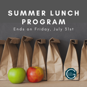 Summer Lunch Program Graphic