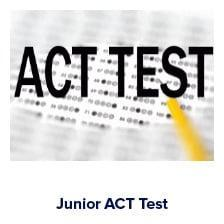 ACT for juniors