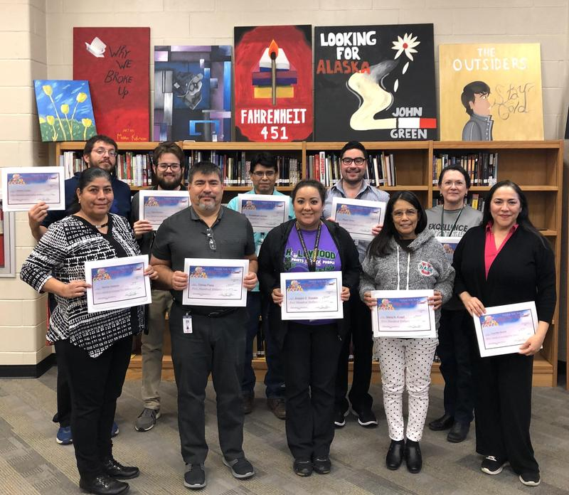 Twelve MCHS Teachers Receive Attendance Incentive Checks! Featured Photo