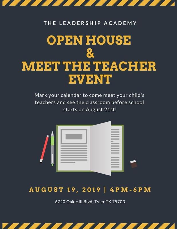 Open House & Meet The Teacher Featured Photo
