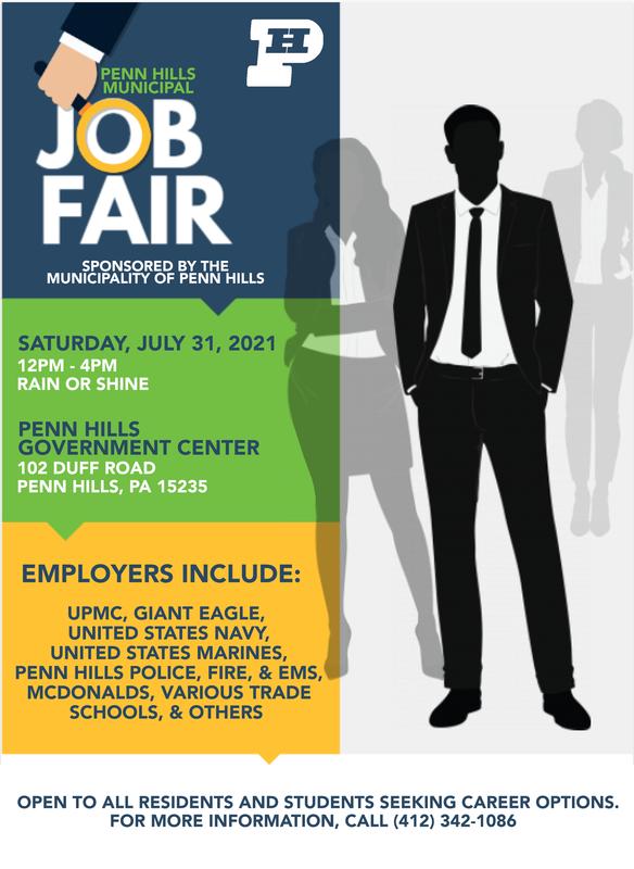 penn hills municipal job fair