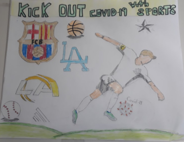 Art by Ranch Hills Student  - 6th - 8th